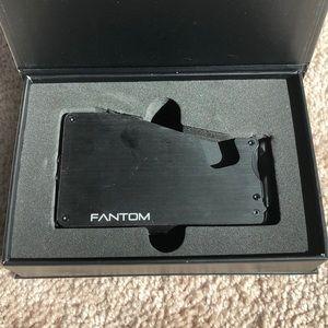 Fantom Wallet w/ Money Clip